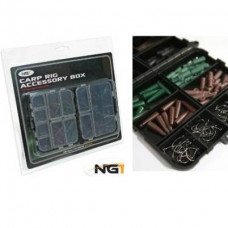 Carp Rig Accessories Kit in Box 170pc (Large)