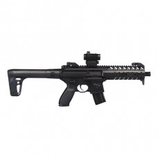 Sig Sauer MPX 30 Shot 88g CO2 Air Rifle Black .177 Pellet with SIG 20R Red Dot