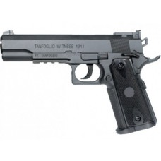 Cybergun Tanfoglio Witness 1911 colt special combat high resin plastic 12g co2 Air Pistol 4.5mm BB 20 shot BB none blow back