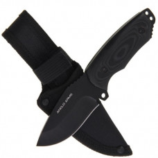 7 inch Wide Bladed Fixed Blade Knive with Micarta Handle (455)